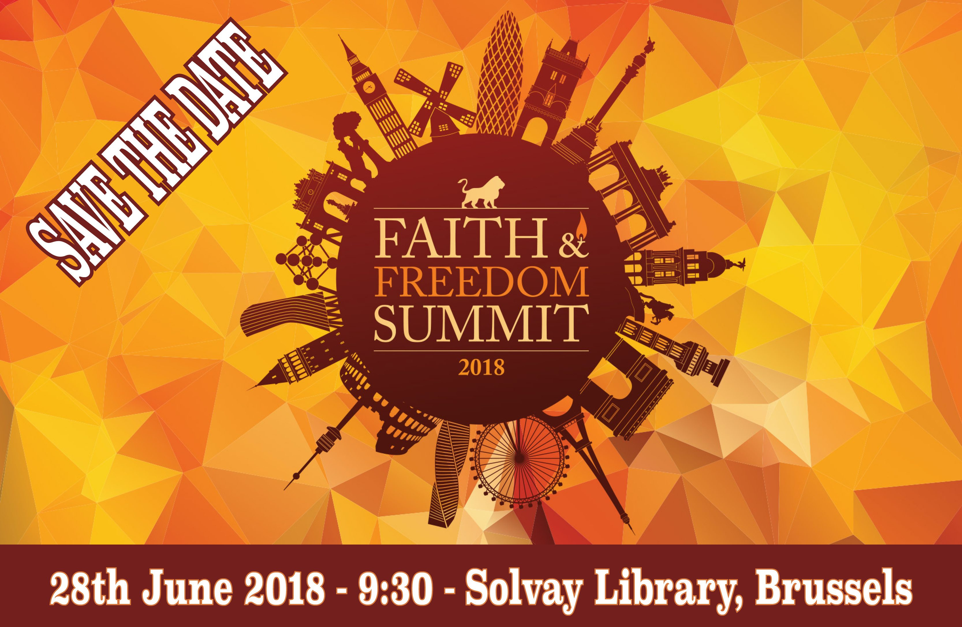 28 June – EU Faith and Freedom Summit