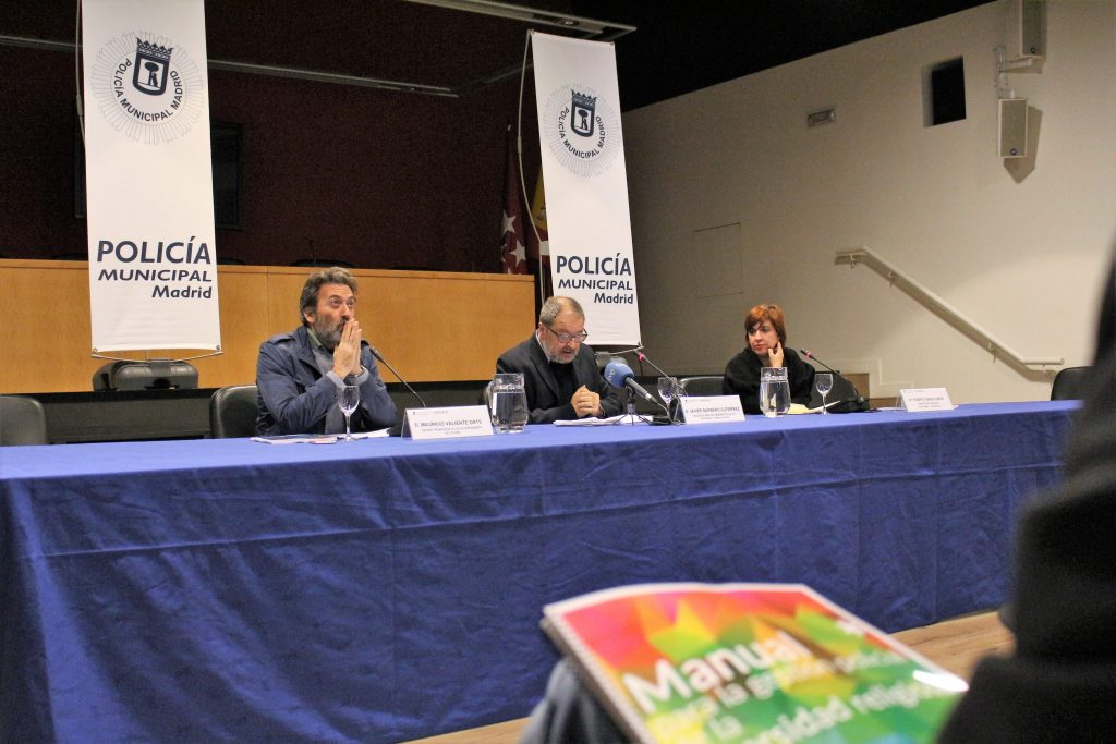 "Madrid City Council presents first ""Manual for the police management of religious diversity"" of Spain with the participation of the Church of Scientology"