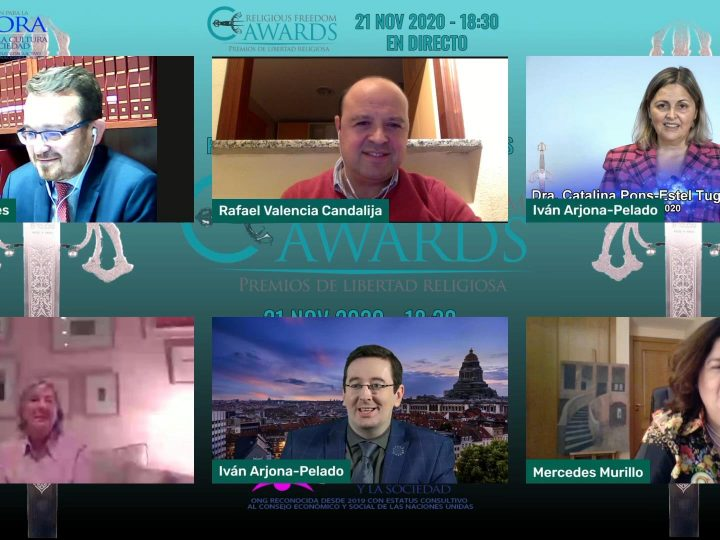 Spain Director of Religious Freedom praises the awards granted by the Foundation of the Church of Scientology